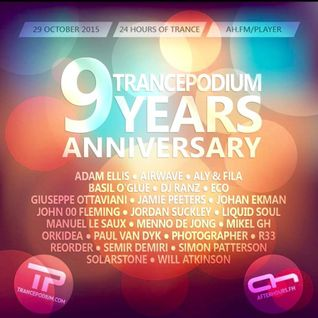 Orkidea - TrancePodium 9th Anniversary on AH.FM 29-10-2015
