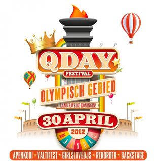 Sidney Samson - Live @ Queensday, Amsterdam - 30.04.2012