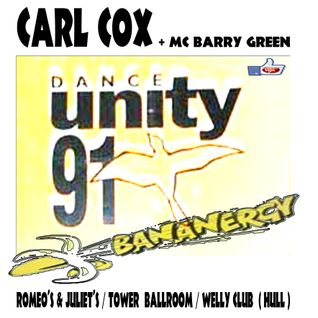 CARL COX (BANANERGY 1991 / DANCE UNITY HULL)