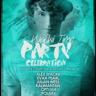 PolarX @ Gibus Café [ Wackii Time Party Celebration ]