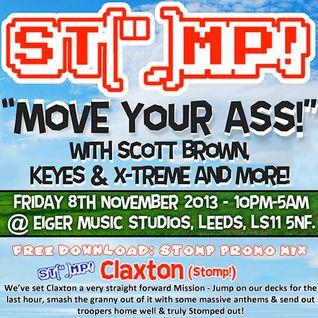Claxton Live @ Stomp! - 08-11-13