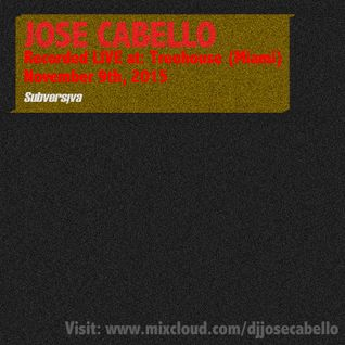 Jose Cabello @ Treehouse (Miami) Road To Partai RD 09112015
