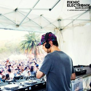 Tiga At Piknic Electronik Barcelona 09.08.2015 (DJ Set)