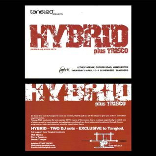 Marcus Graham - Hybrid warm up at Tangled, Manchester 2005