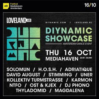 Kollektiv Turmstrasse - Live @ Diynamic Showcase, Amsterdam (ADE 2014) - 16.10.2014