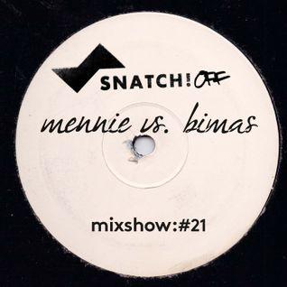 SNATCH! GROOVES #021 - Mennie vs. Bimas (NOVEMBER 2013)