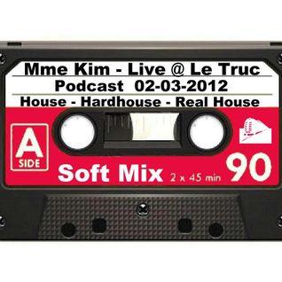 Mme Kim - Live @ Le Truc - Podcast 02-03-2012