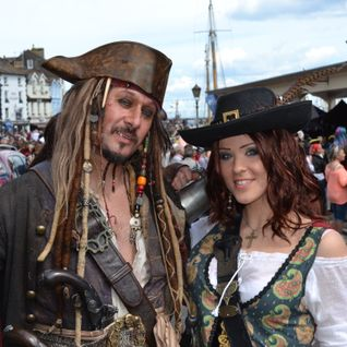 Something for the Weekend - Pirate Radio at the Pirate Festival in Brixham