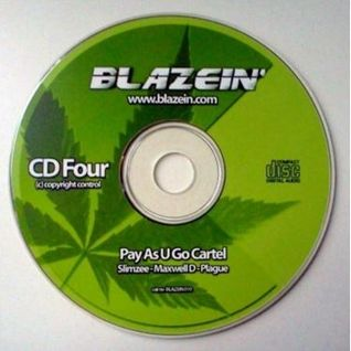 Slimzee with Maxwell D, Plague / Pay As U Go Cartel at Blazein - Amsterdam - 2002