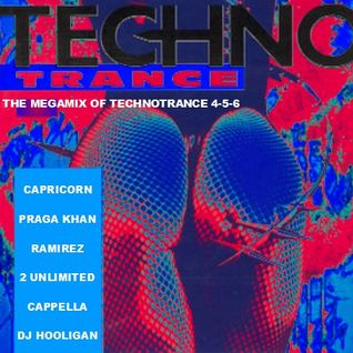Techno Trance - The Megamix of Techno Trance 4-5-6