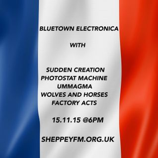 Bluetown Electronica live show 15.11.15