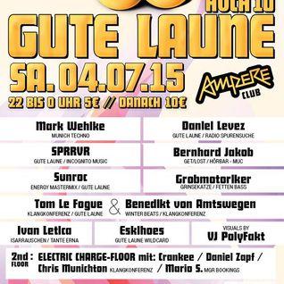 "Bernhard Jakob - ""Gute Laune"" Ampere - München, 04.07.2015"