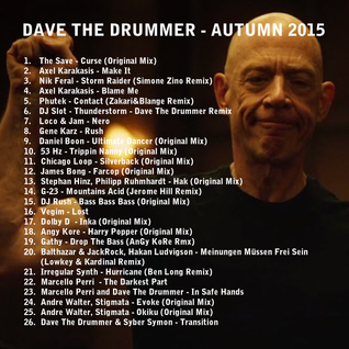 Dave The Drummer Autumn DJ Mix 2015