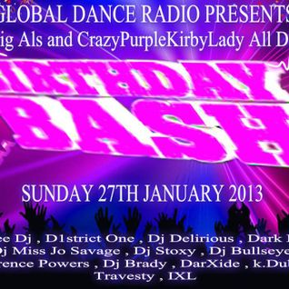 DarXide - Live on Global Dance Radio! (January 27, 2013)