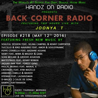 BACK CORNER RADIO: Episode #218 (May 12th 2016)