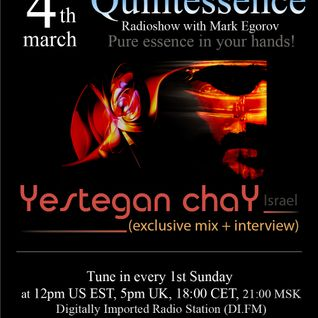 Mark Egorov - Quintessence Radioshow # 002 (Yestegan chaY) Part 1