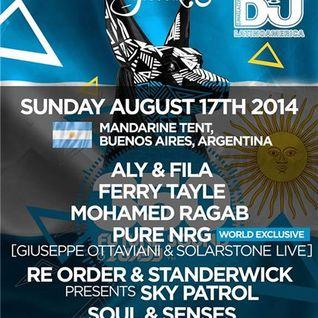 Mohamed Ragab - Live @ FSOE 350, Mandarine Tent (Buenos Aires, Argentina) - 17.08.2014