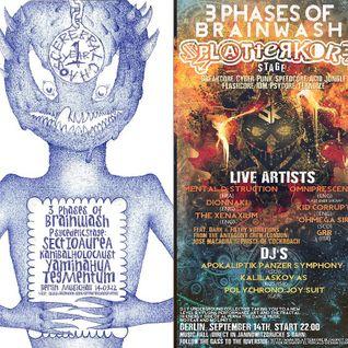 Kazulu @ 3 Phases Of Brainwash - 14.09.12/Berlin