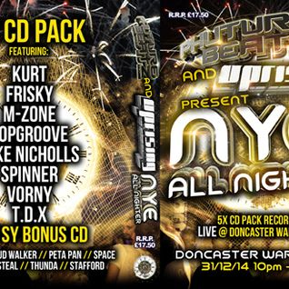 uprising v phuturebeatz  nye allnighter 2014  dj spinner mc stafford