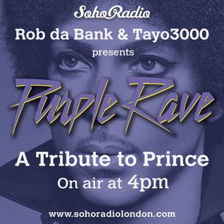 Purple Rave a tribute to Prince - Rob Da Bank  (22/04/2016)