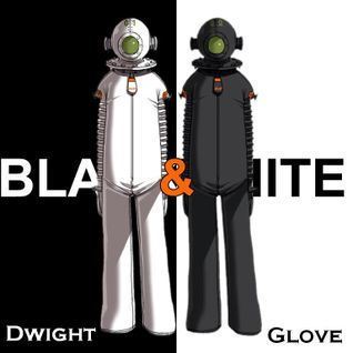 Dwight Glove - Black & White