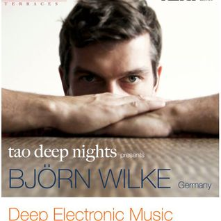 Tao Deep Nights feat BJOERN WILKE (Germany) at the tao Terraces - Friday, 28th Nov 2014 - Bangalore.