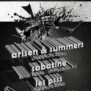 Les Psss - A Techno Tale @ Colors Club - Underground Society 20-oct'12