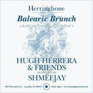 Balearic Brunch at Herringbone - La Jolla, CA (2014-01-26)