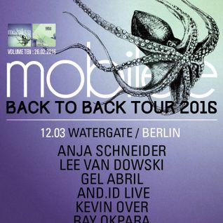 Lee Van Dowski - Live @ Mobilee B2B Tour, Watergate Club (Berlin, DE) - 12.03.2016