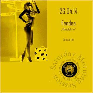 Fendee @ Manufaktur Karlsruhe - Afterhour [26.04.2014]