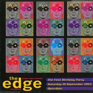 Micky Finn The Edge 'First Birthday' 18th Sept 1993
