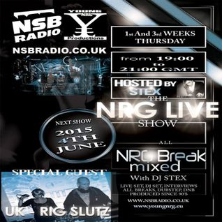 NSB Radio - NRG Live Show - Rig Slutz Set - II Part -4th June 15