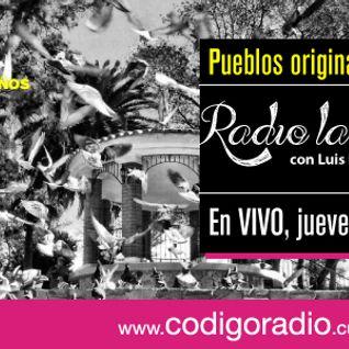 Radio la Fábrica programa sobre pueblos Originarios de México, entrevista a Octavio Murillo Alvarez