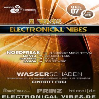 2016.10.07 - electronical vibes club with Jan Mars, NordFreak, Joston