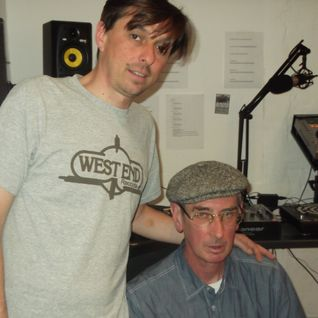 14/08/12: Ross Allen with journalist and curator Paul Bradshaw