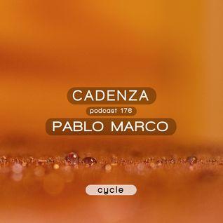 Cadenza Podcast   176 - Pablo Marco (Cycle)