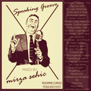 Speaking Groove / Roomrecords Podcast / 057 Mixed by Mirza Sehic