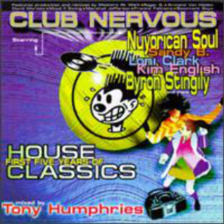 Tony Humphries ‎– Club Nervous - First Five Years Of House Classics (1996)