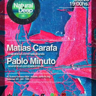 Matias Carafa @ Natural Deep 15.01.2014