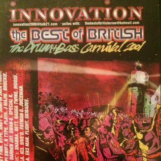 Mickey Finn b2b Darren Jay - Best of British Innovation mc's skibadee,det,shabba,5ive o