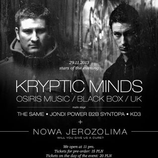 KD3 - Live @ Nowa Jerozolima with Kryptic Minds (29.11.2013)