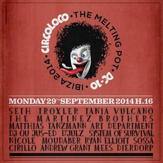 Nicole Moudaber @ Circoloco at DC-10 Ibiza 29-09-2014