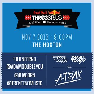 DJ Adam Doubleyou - Canada - Red Bull Thre3style World DJ Championship: Night 3