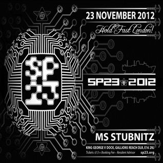Crystal distortioN (Live PA) @ SP23-23rd Birthday Party - MS Stubnitz London - 23.11.2012