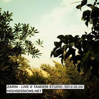 Live @ TANDEM STUDIO /2012.02.03/