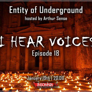 Arthur Sense - Entity of Underground #018: I Hear Voices [January 2013] on Insomniafm.com