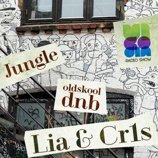 Vicodin radio show - Jungle, oldskool - Lia b2b Cr1s
