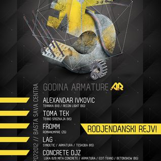 live @ 5 Years Armatura Records 270712