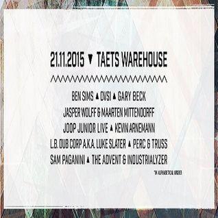 Perc & Truss @ Chateau Techno-La Fabrique - Taets Warehouse Amsterdam - 21.11.2015