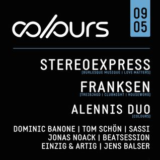Dominic Banone @ COLOURS - Summerclosing 09.05.2015 (Tanzhaus West, Frankfurt)